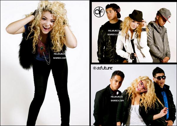 Quelques photos issues du tout premier photoshoot du groupe DaFuture ;Jazzy Mejia, Isaiah 'Note Pad' Elizalde & Evan Gonzalez. - Le groupe prévoit de nous faire découvrir leurs premieres chansons, début 2012.