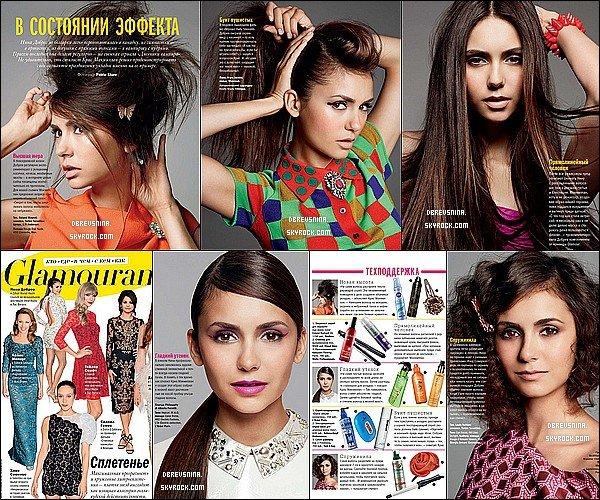 Découvrez les scans du Magazine Russe Glamour du mois de Décembre 2012 !