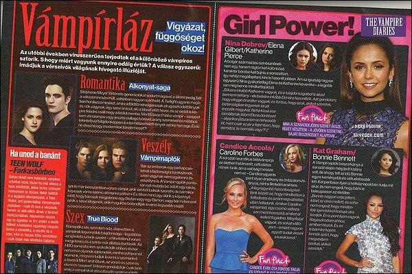 Découvrez la bande annonce de l'épisode 4x10 de The  Vampire Diaries ! « After School Special » sera diffusé le 17 Janvier sur la CW a cause du hiatus d'hiver
