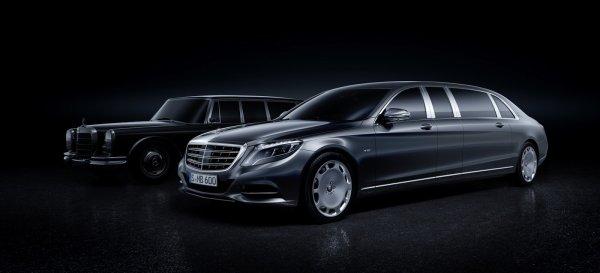 Mercedes-Maybach Pullman 2015