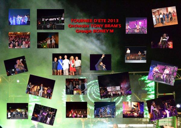 PHOTOS TOURNEE D'ETE 2013