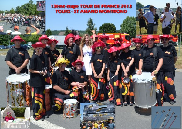 PHOTOS ETAPE DU TOUR DE FRANCE A ST AMAND MONTROND