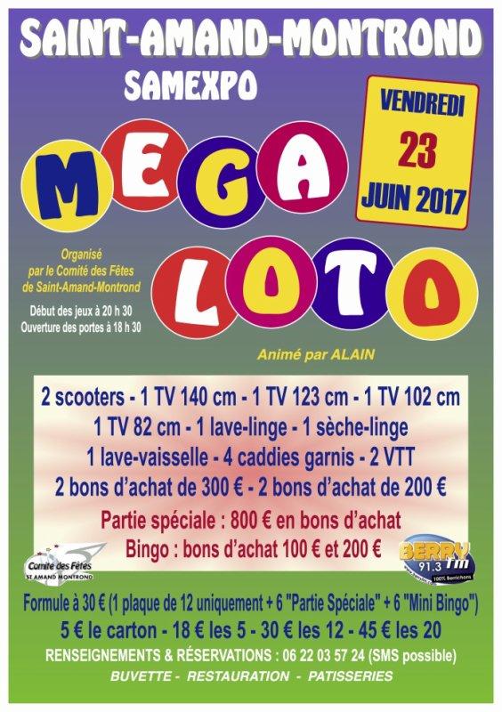 Méga Loto le 23 juin 2017