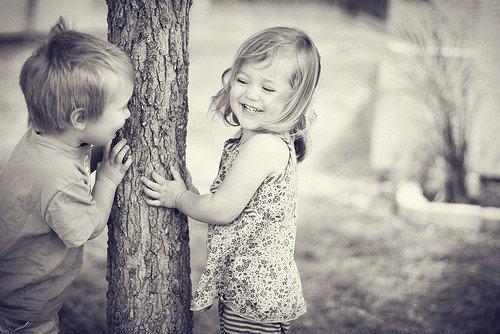 Deux enfant