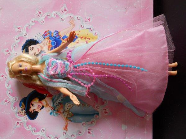 MERCREDI divers accessoires Barbie plus une barbie