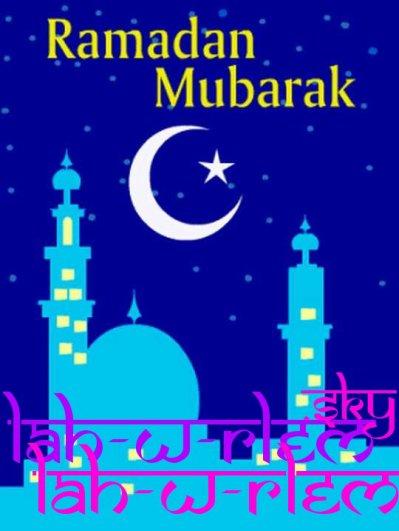 Bismillah • «Celui qui jeûne le mois de Ramadan, en connaissant et en respectant avec vigilance les règles du jeûne, expie les fautes de son passé». (Boukhari)  • «Si les serviteurs connaissaient la valeur du mois de Ramadan, ils souhaiteraient que l'année entière fût Ramadan. » (Bayhaqi)  • «Le jeûne préserve de l'enfer tel un bouclier au combat» (Imam Ahmed) N'OUBLIEZ PAS LE CORAN