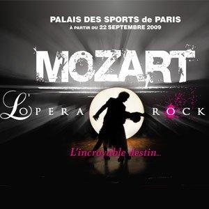 L'afiche du concert mozart l'opera rock