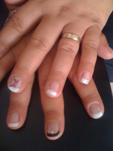 pose gel sur ongles naturel