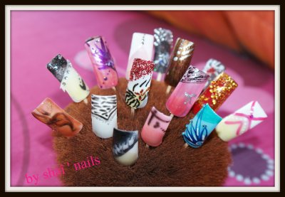 nails art et bague gel uv