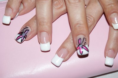 french simple et nail art