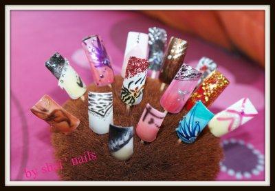 les fêtes arrivent mesdames n' hésitez pas à prendre rdv pour être belle jusqu 'au bout des ongles ;)
