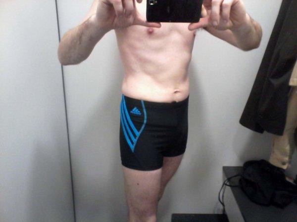 reprise de la piscine = nouveau maillot