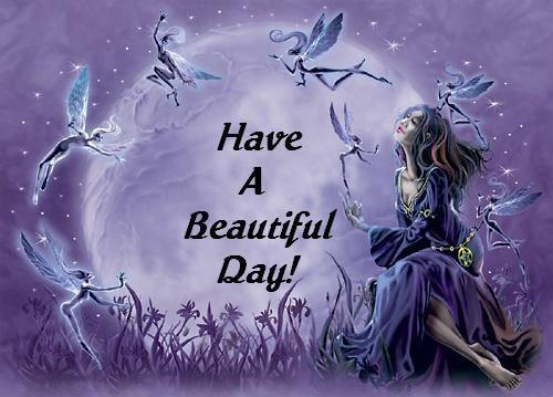 Que cette journée vous soit douce et agréable à vous, mes ami(e)s de Sky.