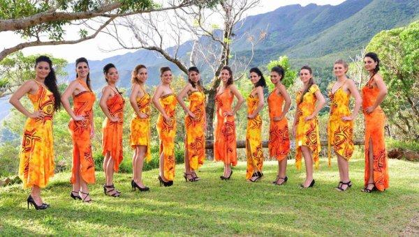 Candidates Miss Nouvelle-Calédonie 2014