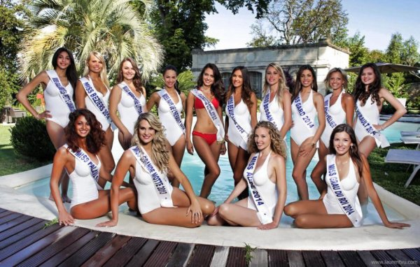 Candidates Miss Languedoc 2014