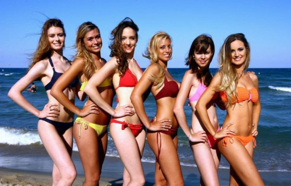 Candidates Miss Roussillon 2014