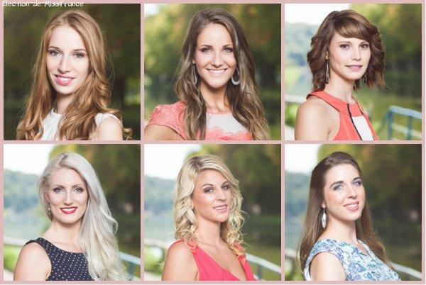Candidates Miss Franche Comté 2014