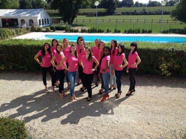 Candidates Miss Poitou Charentes 2014