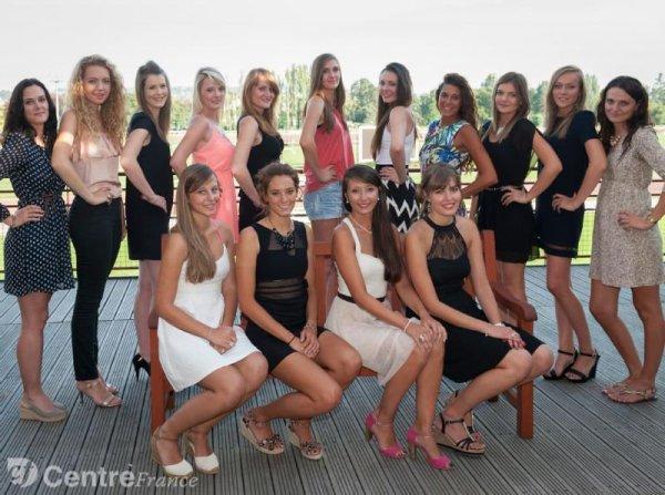 Candidates Miss Auvergne 2014
