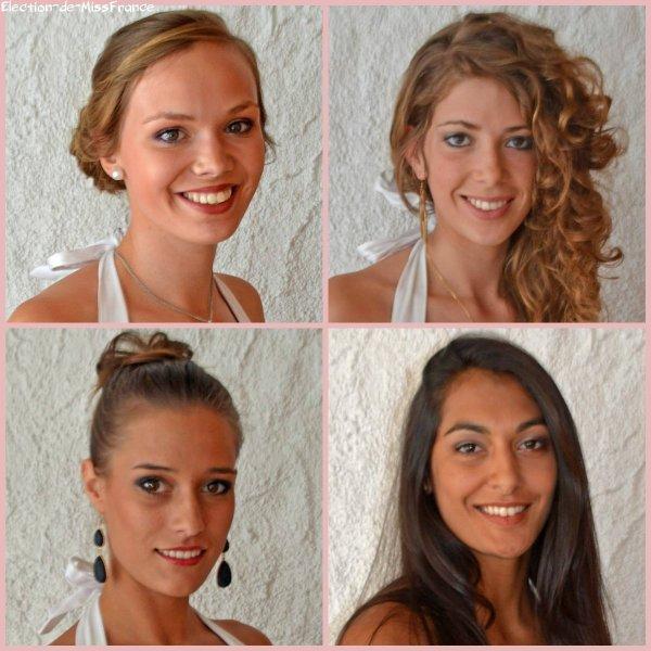 Candidates Miss Pays de Loire 2014