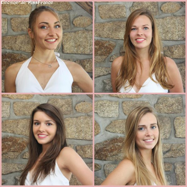 Candidates Miss Bretagne 2014