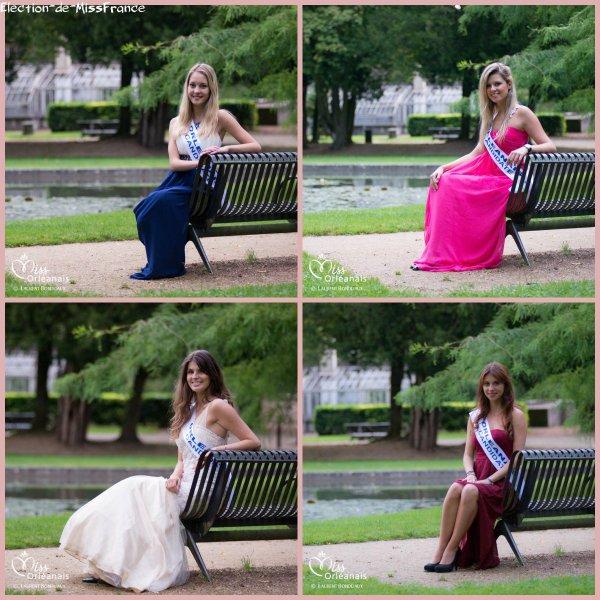Candidates Miss Orléanais 2014