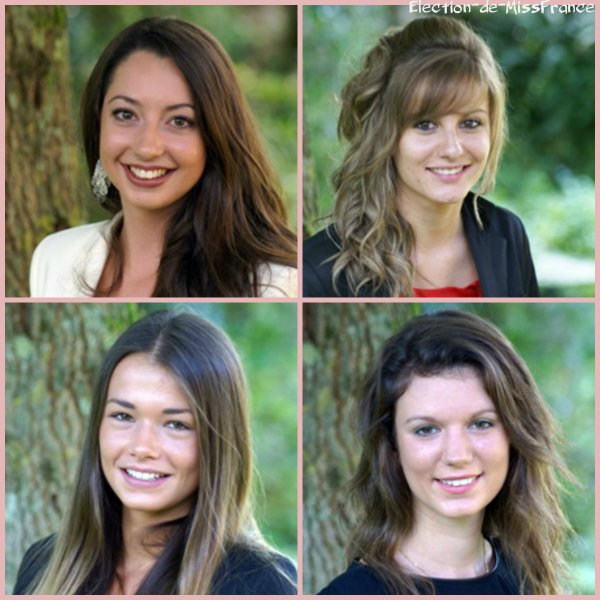 Candidates Miss Centre 2014