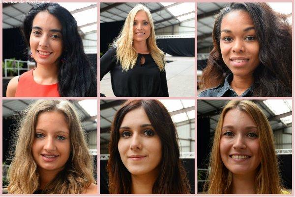 Candidates Miss Midi-Pyrénées 2014