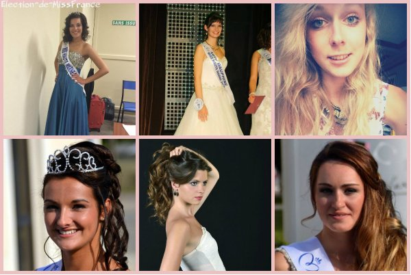 Candidates Miss Champagne-Ardenne 2014