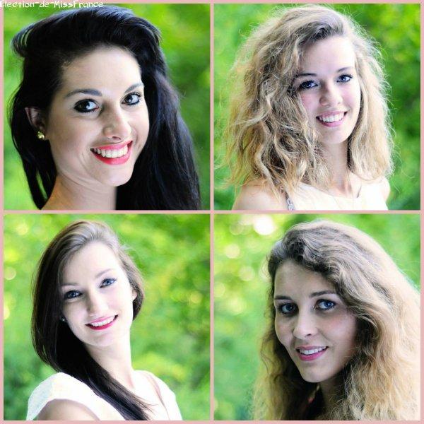 Candidates Miss Pays de Savoie 2014
