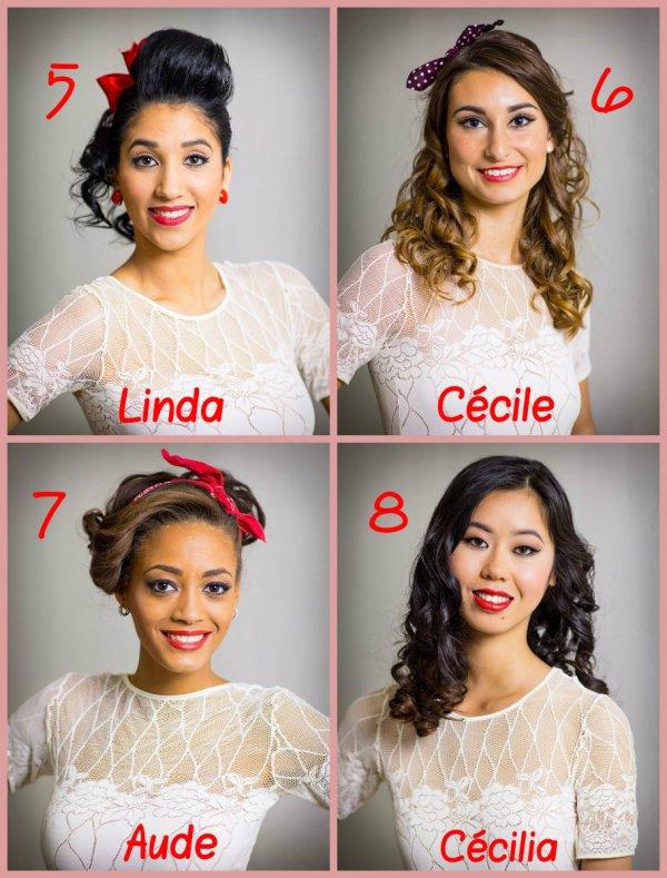 Candidates Miss Île de France 2015