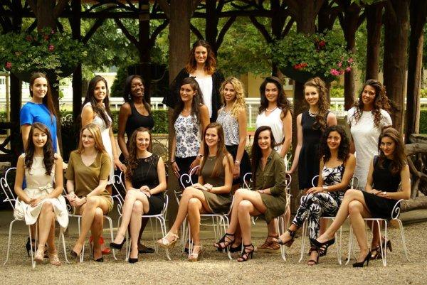 Candidates Miss Auvergne 2015