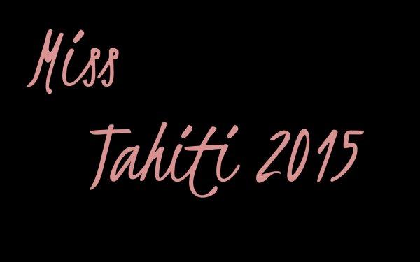 Miss Tahiti 2015
