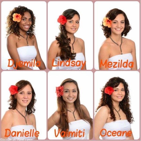 Candidates Miss Nouvelle Calédonie 2015