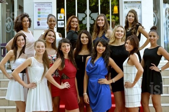 Candidates Miss Bourgogne 2015