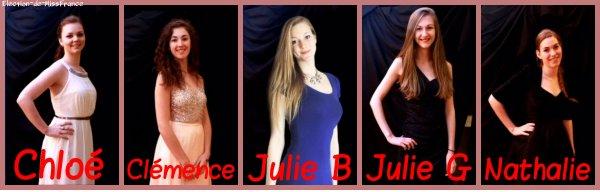 Candidates Miss Saint Pierre et Miquelon 2015