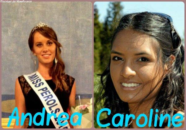 Candidates Miss Languedoc 2015