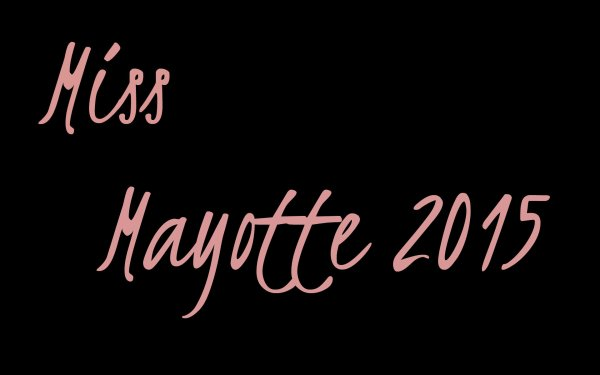Miss Mayotte 2015