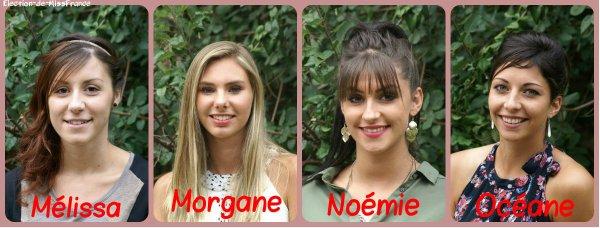 Candidates Miss Centre Val de Loire 2015