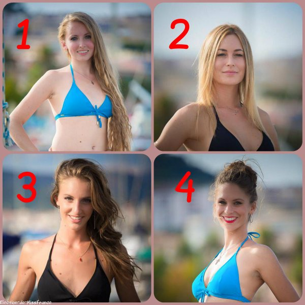 Candidates Miss Corse 2015