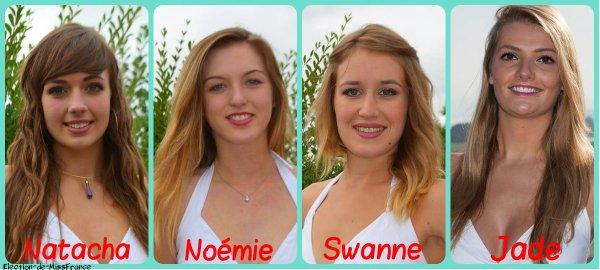 Candidates Miss Pays de Loire 2015