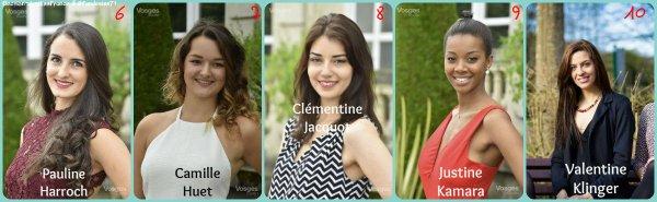 Candidates Miss Lorraine 2016