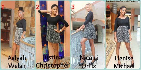 Candidates Miss Saint Martin - Saint Barthélémy 2016