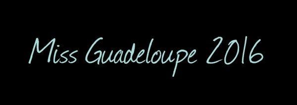 Miss Guadeloupe 2016