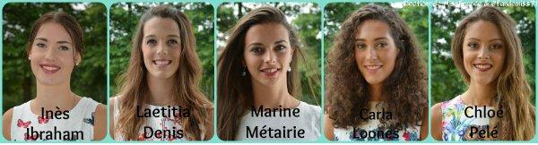 Candidates Miss Pays de Loire 2016