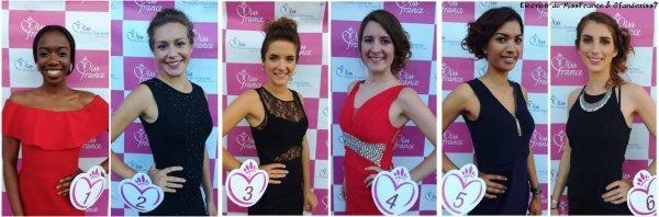 Candidates Miss Poitou-Charentes 2016
