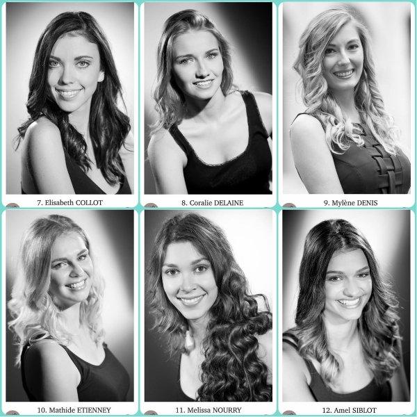 Candidates Miss Franche-Comté 2016
