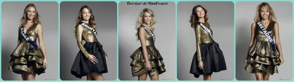 Photos officielles des candidates