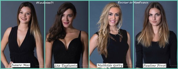 Candidates Miss Languedoc-Roussillon 2017