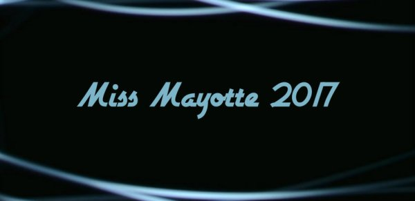 Miss Mayotte 2017
